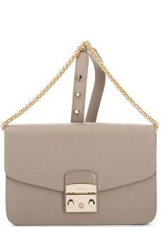 Кожаная сумка с откидным клапаном Furla