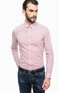Приталенная хлопковая рубашка Guess