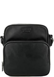 Маленькая черная сумка через плечо Guess