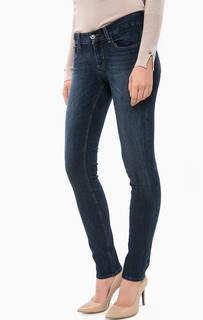 Синие зауженные джинсы с пятью карманами Liu Jo