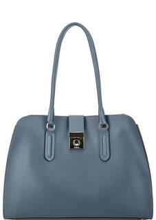 Синяя сумка из гладкой кожи Furla