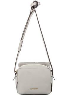 Маленькая серая сумка через плечо Calvin Klein Jeans