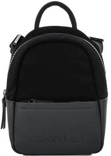 Маленькая черная сумка с одним отделом Calvin Klein Jeans