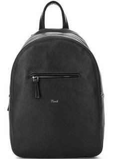 Маленький кожаный рюкзак с тонкими лямками Bruno Rossi