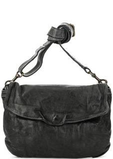 Кожаная сумка с откидным клапаном Bruno Rossi