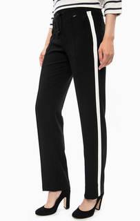 Черные зауженные брюки с карманами Cinque
