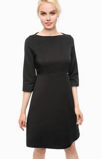 Черное платье в горошек Cinque