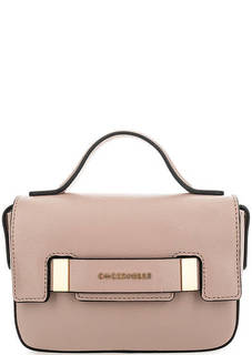 Кожаная сумка с откидным клапаном Coccinelle