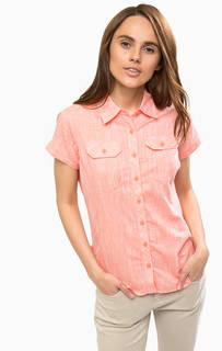 Приталенная рубашка с короткими рукавами Columbia