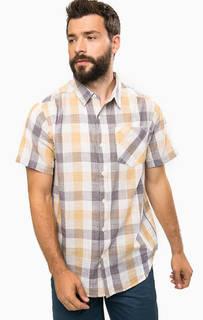 Хлопковая рубашка в клетку Columbia