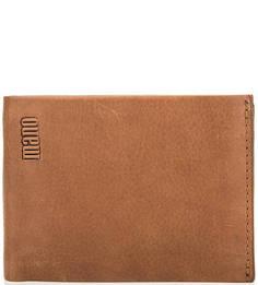 Кожаное портмоне со съемным карманом Mano