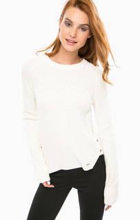Вязаный свитер молочного цвета Calvin Klein Jeans