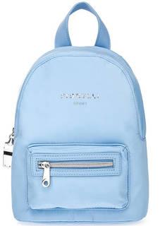 Текстильный рюкзак с блестящей отделкой Fiorelli