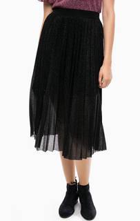 Плиссированная юбка на резинке Kocca
