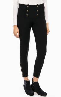 Трикотажные брюки на пуговицах Kocca