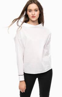 Белая блуза с пуговицами на спинке Kocca