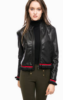 Куртка на молнии с трикотажными вставками Kocca