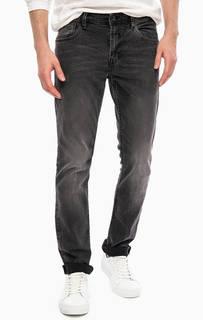 Серые джинсы скинни с низкой посадкой Tom Tailor Denim