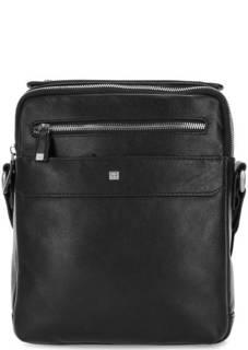 Кожаная сумка через плечо с короткой ручкой Sergio Belotti