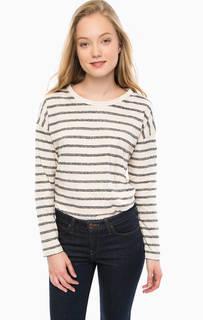 Хлопковая футболка в полоску Lee