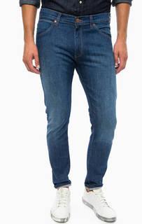 Синие джинсы скинни Wrangler