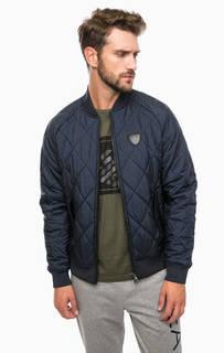 Утепленная куртка-бомбер EA7