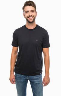 Комплект из трех однотонных футболок Armani Jeans
