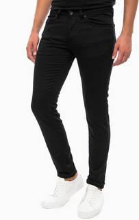 Черные зауженные джинсы Gas