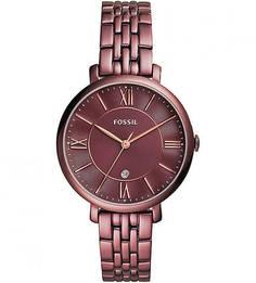 Часы с металлическим браслетом Fossil
