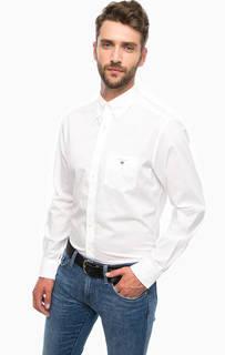 Рубашка из хлопка с нагрудным карманом Gant