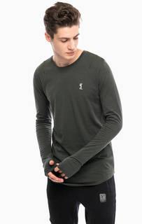 Хлопковая футболка с длинными рукавами Religion