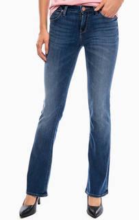 Расклешенные джинсы с декоративными заломами Lee