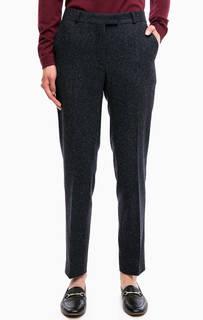 Зауженные брюки с застежкой на молнию, пуговицу и два крючка Gant