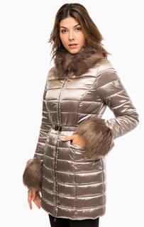 Длинная куртка с дополнительным воротником Liu Jo