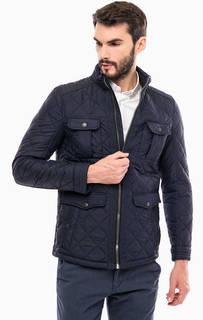 Синяя куртка с карманами Tom Tailor