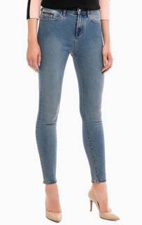 Синие джинсы скинни с пятью карманами Calvin Klein Jeans