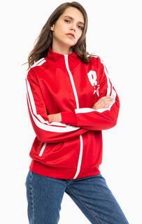 Красная спортивная куртка на молнии Replay