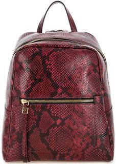 Кожаный рюкзак с выделкой под рептилию Gianni Chiarini