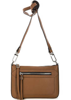 Маленькая кожаная сумка через плечо Gianni Chiarini