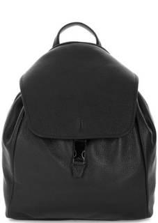 Вместительный кожаный рюкзак с тонкими лямками Gianni Chiarini