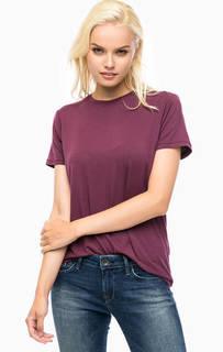 Однотонная футболка с короткими рукавами Mavi