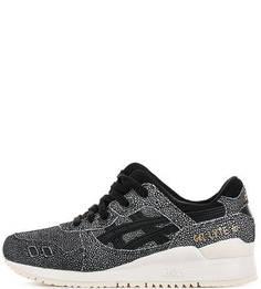 Замшевые кроссовки на шнуровке Asics Tiger