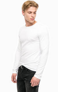 Хлопковая футболка с длинными рукавами Mavi