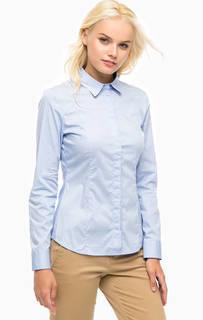 Приталенная хлопковая рубашка Marc Opolo