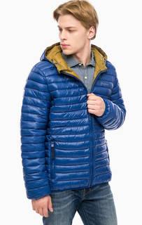 Синяя куртка с капюшоном Pepe Jeans