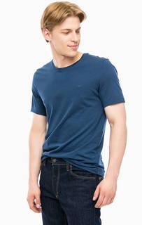 Базовая синяя футболка Mustang