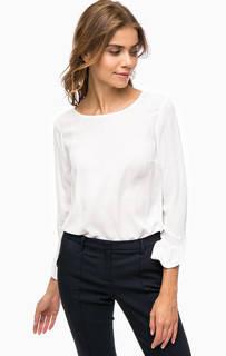 Белая блуза с длинными рукавами More & More