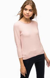 Розовый джемпер с застежкой на молнию More & More
