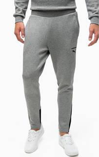 Серые спортивные брюки с карманами Puma