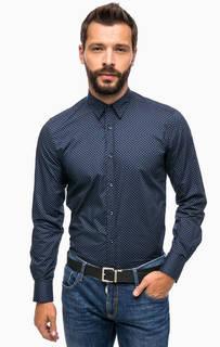 Хлопковая рубашка в горошек Antony Morato